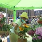 The Black Farmer's Market in Durham, NC