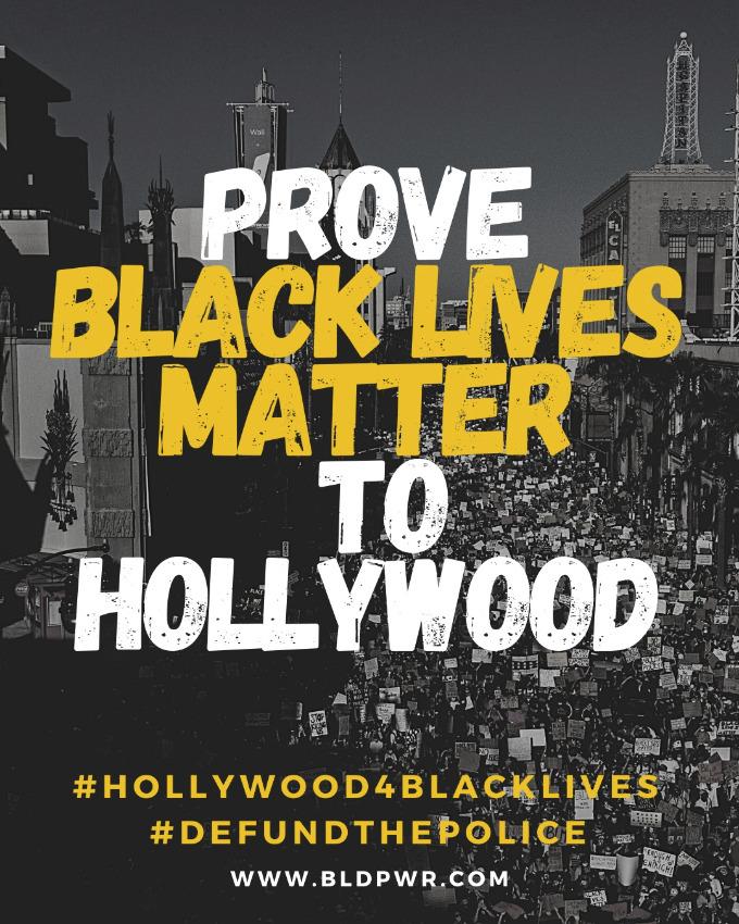 Hollywood 4 Black Lives