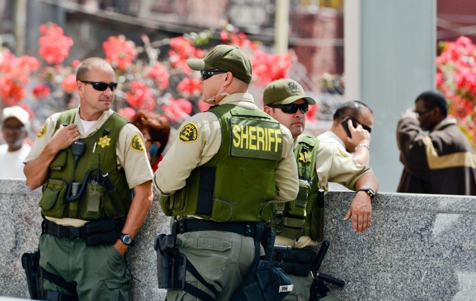 Sheriffs white men