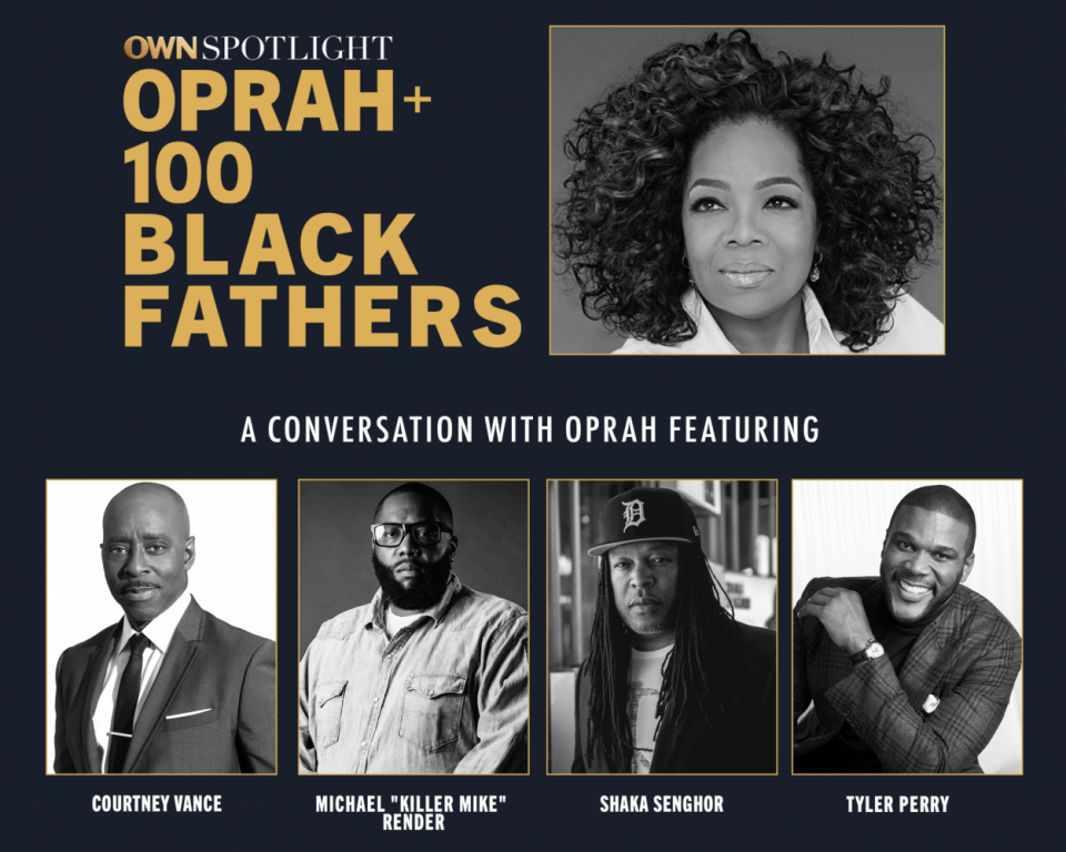Oprah Winfrey 100 black fathers