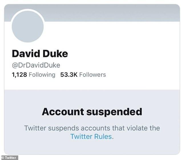 Twitter David Duke