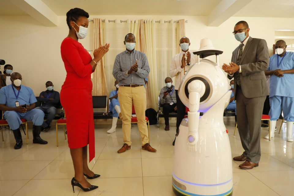 Ministry receiving robots