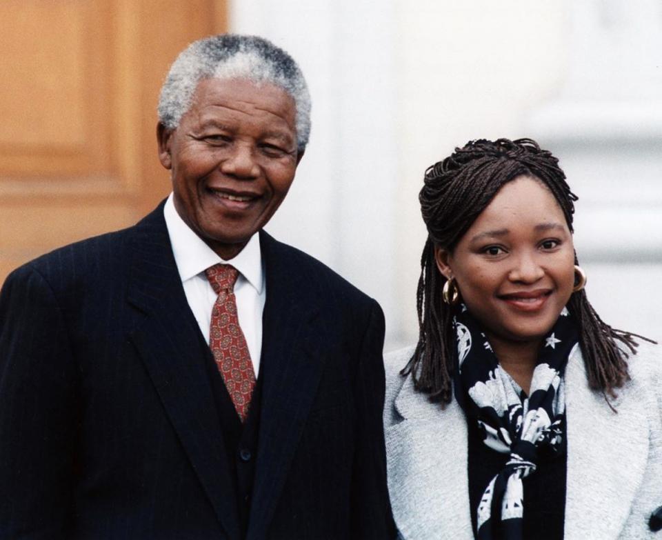 Nelson and Zindzi Mandela