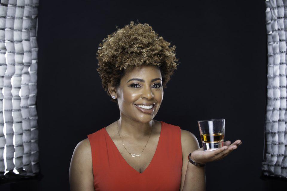Samara Rivers, owner of the Black Bourbon Society