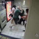 Black Hotel Worker attacked