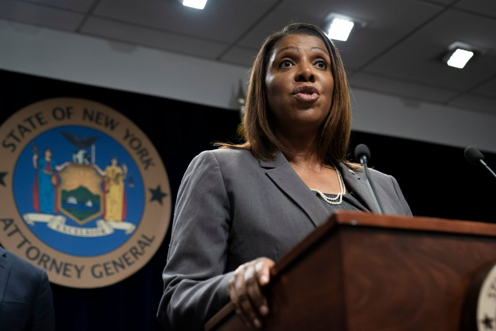 New York Attorney General Letitia James Mulling Run For Governor