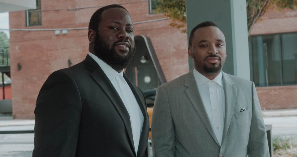 """Kevin Thompson, Tykeem """"Tak"""" Williams of Verve Scooters"""