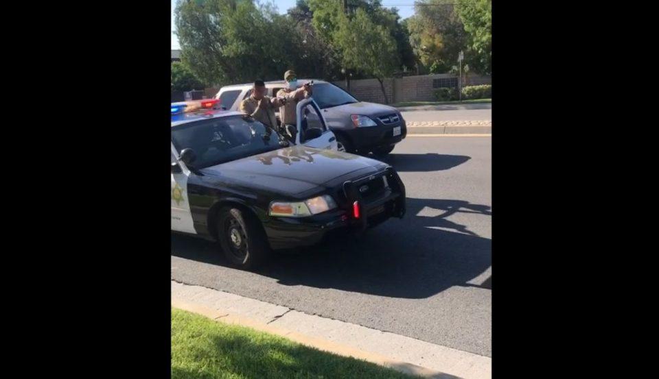 LAPD Los Angeles Police Officers black teenagers