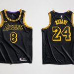 Black Mamba Los Angeles Lakers jerseys