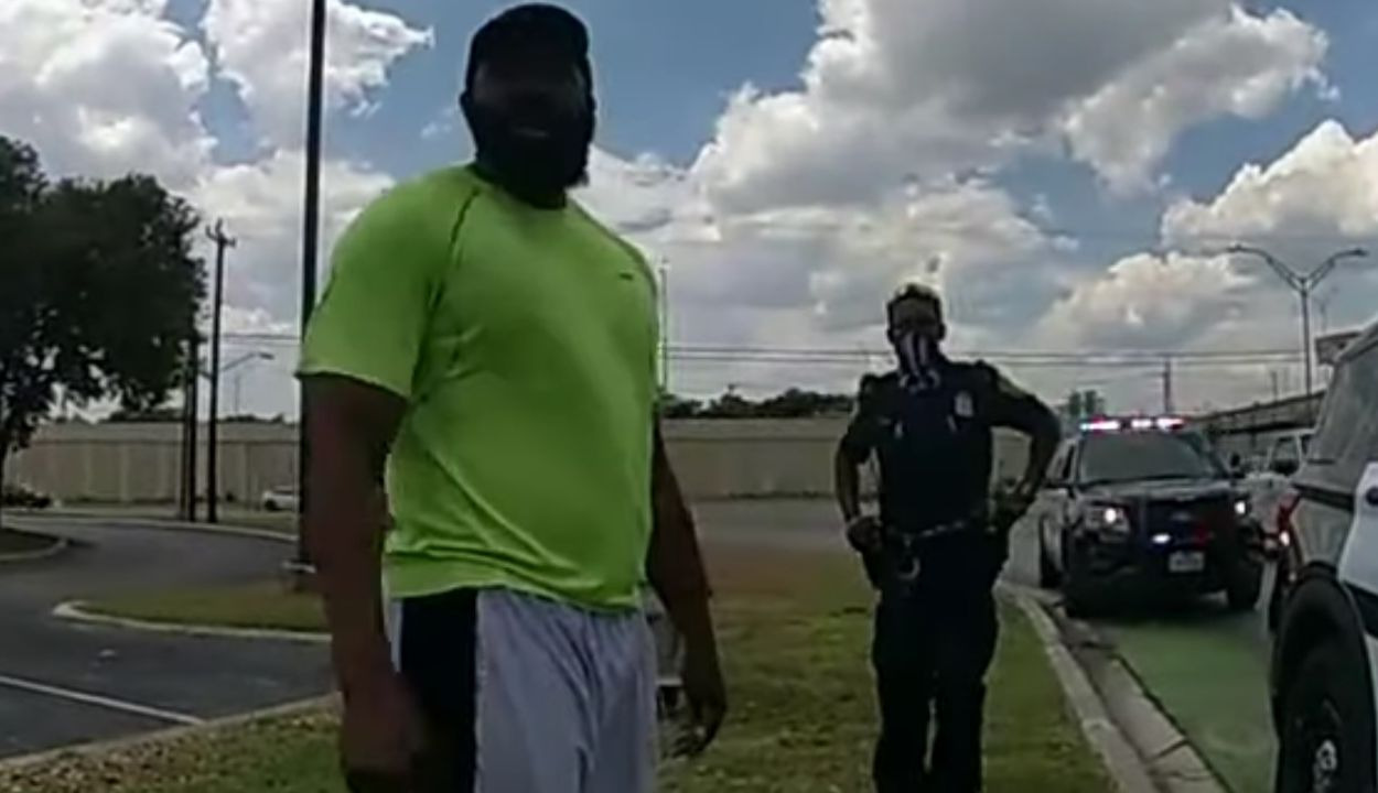 Innocent Black Man Jogging Wrongfully Arrested by San Antonio Police