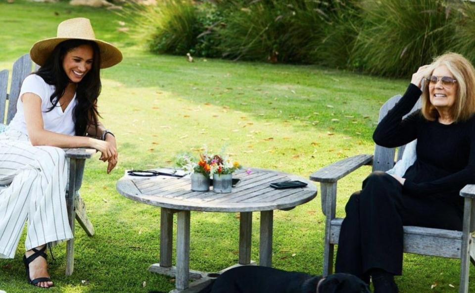 Meghan Markle and Gloria Steinem