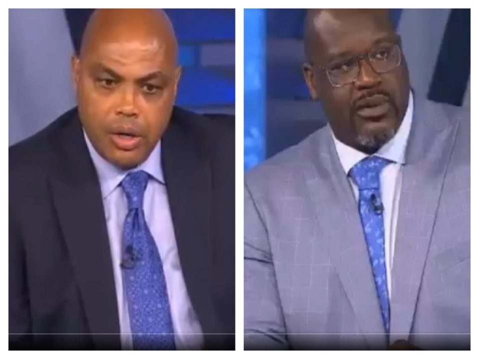 Charles Barkley Shaquille O'Neal