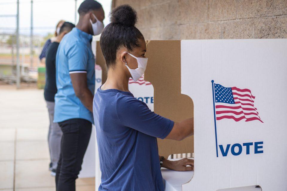 Black Lives Matter Mail ballots voting