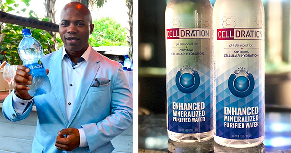 Celldration Water Brand