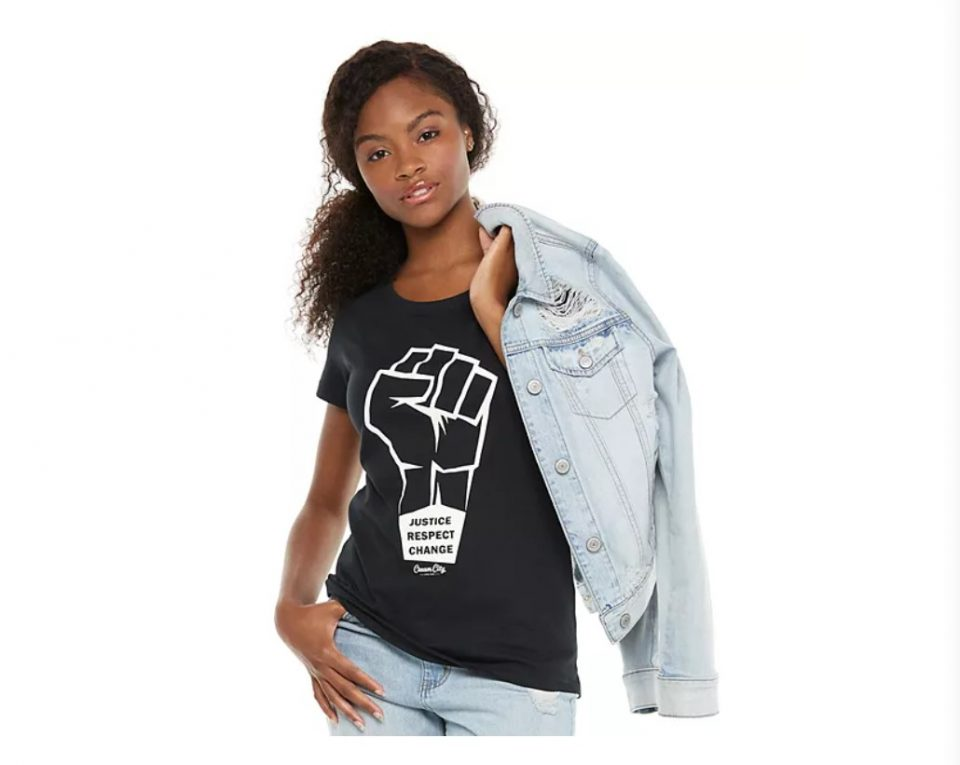 black-owned Kohl's tee