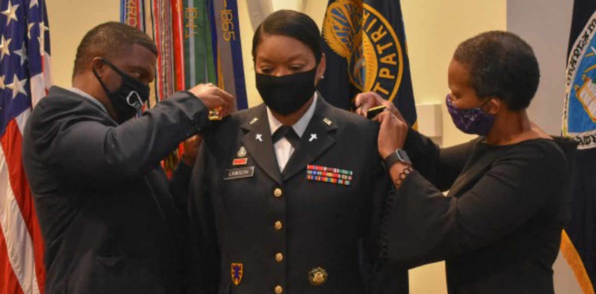 Meet The First Black Woman To Rise From Chaplain To Colonel