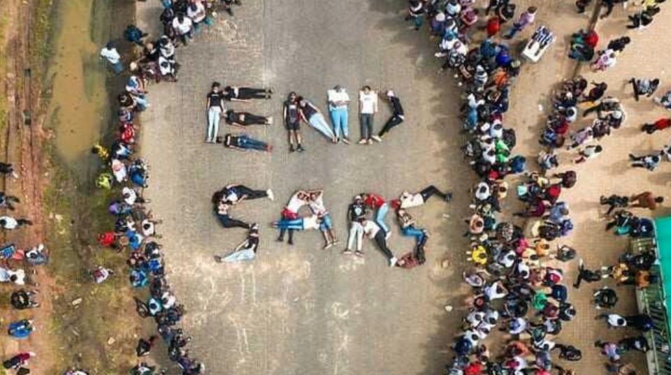 SARS protest Nigerian