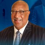 St. Aug president Dr. Irving Pressley McPhail