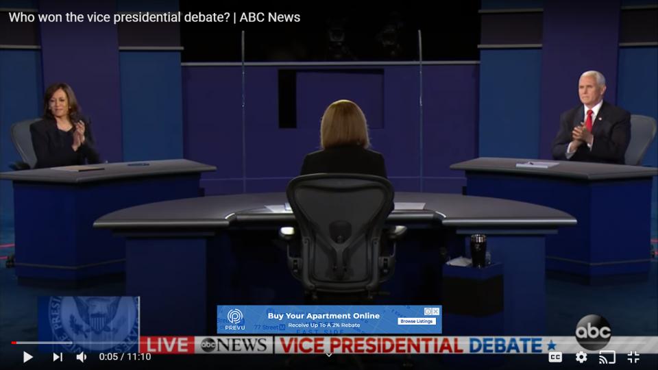 VP Debate Kamala Harris