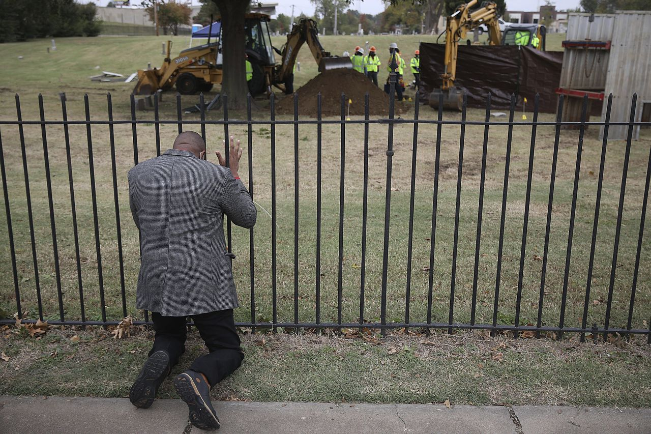 Mass Grave Found During Search for 1921 Tulsa Race Massacre Victims