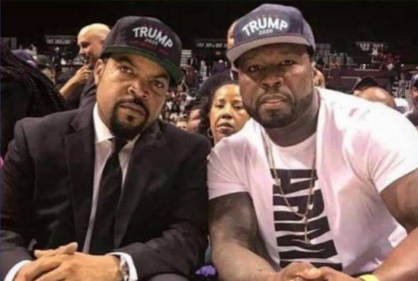 Eric Trump Ice Cube 50 Cent