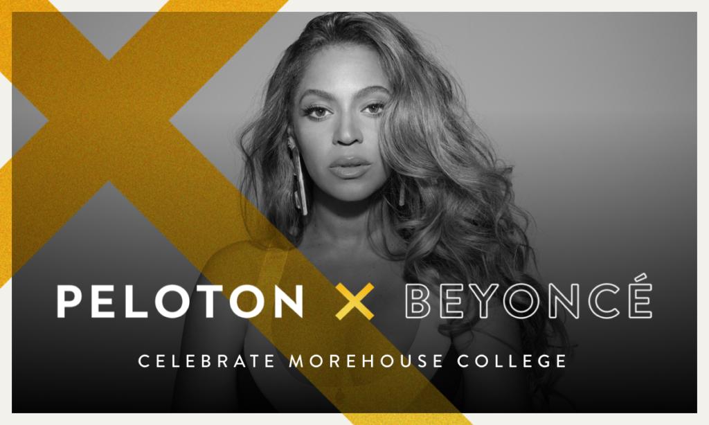 Beyonce Peloton