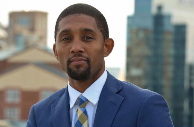 Baltimore mayor Brandon Scott
