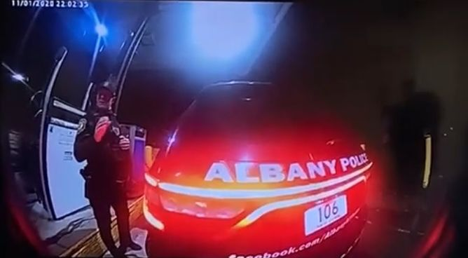 Albany New York police officer