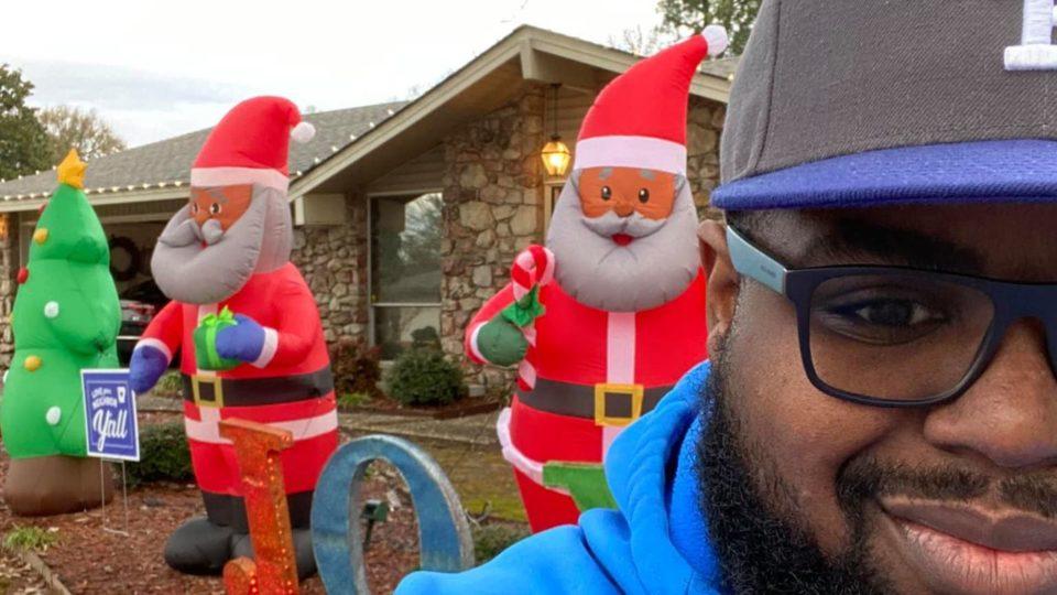 Black Santa Claus Arkansas