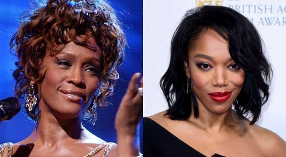 Whitney Houston. Naomi Ackie