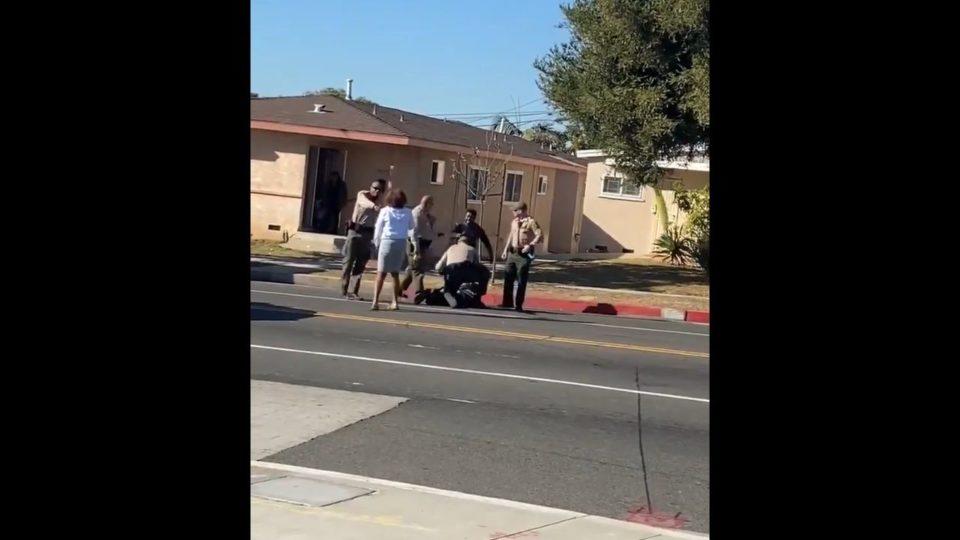 Los Angeles Sheriff's Department tased