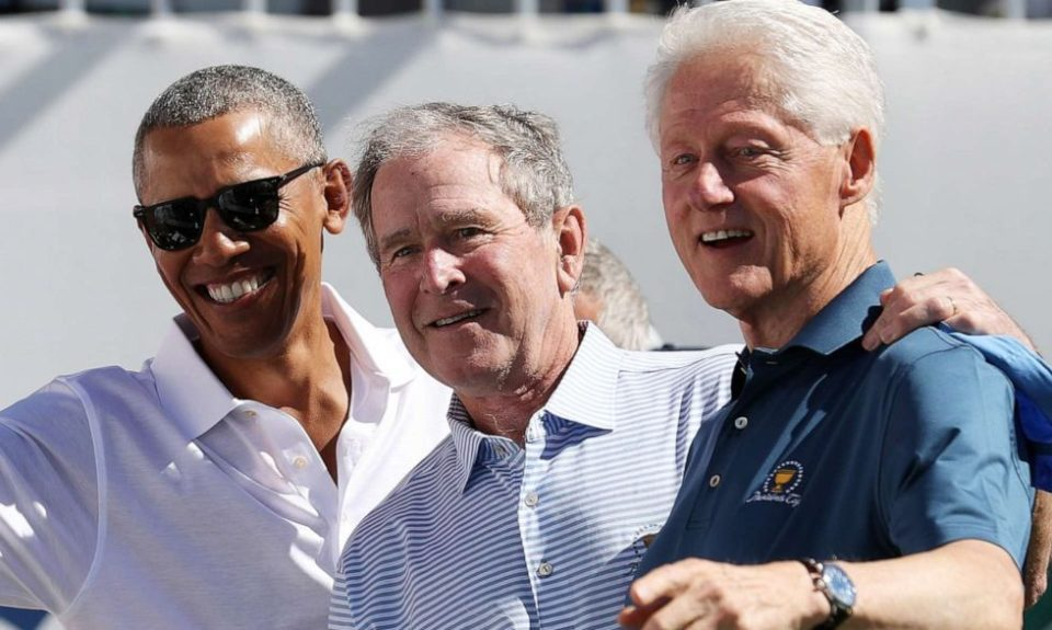 Presidents Obama, Bush and Clinton coronavirus vaccine