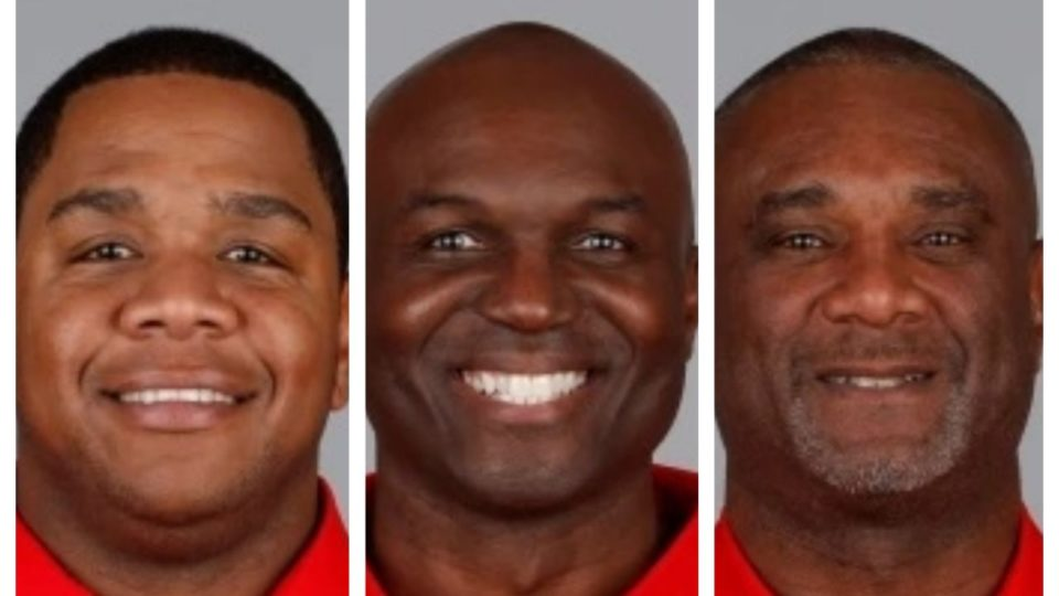 Tampa Bay Byron Leftwich, Todd Bowles and Keith Armstrong