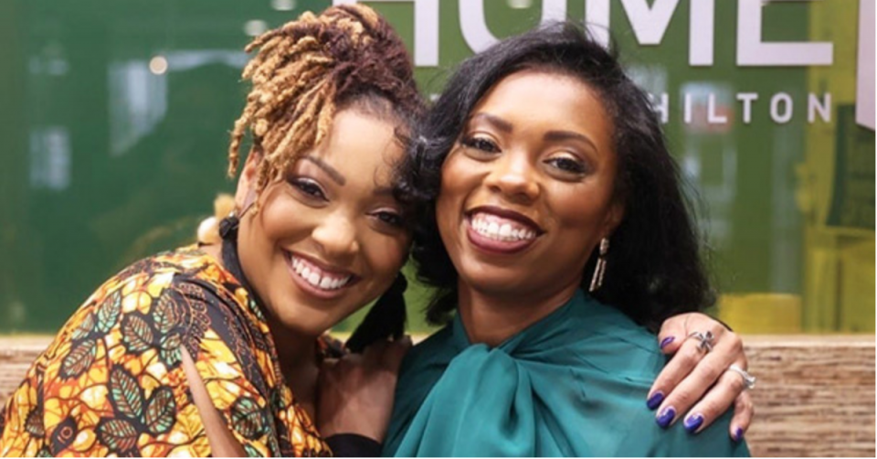 Davonne Reaves and Jessica Myers
