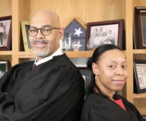 Harper Woods Judge Rebekah Coleman Sworn In By Father, Who's Also A Judge