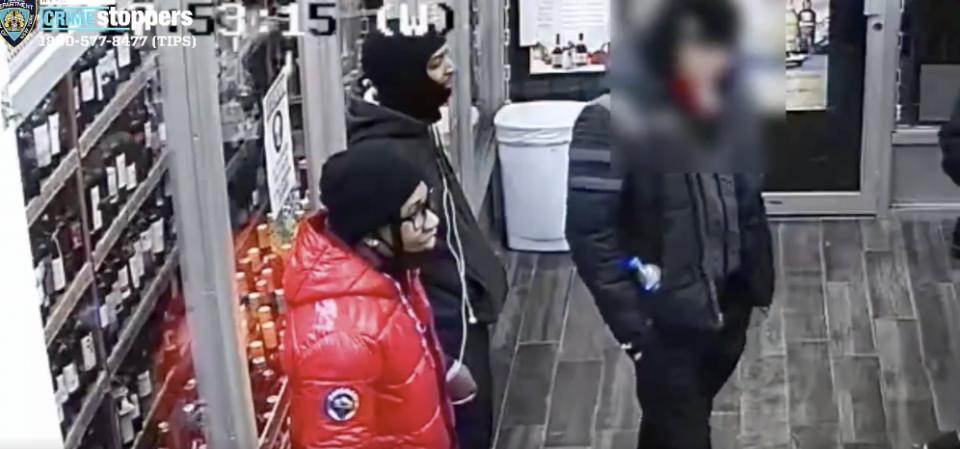 ex-girlfriend brutal attack harlem woman liquor store assault rally
