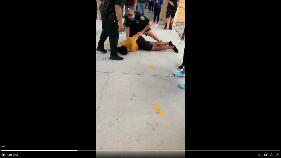 Florida Deputy Slam Black Girl