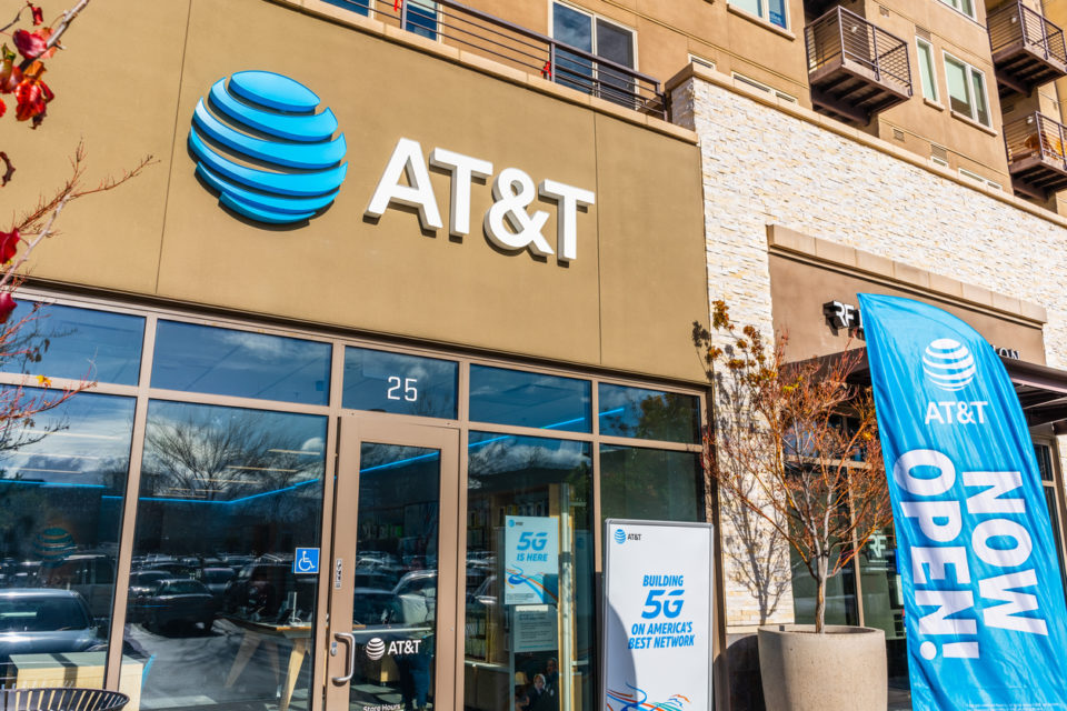AT&T black suppliers