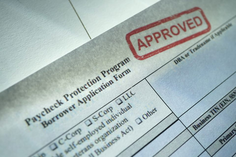 PPP paycheck protection program