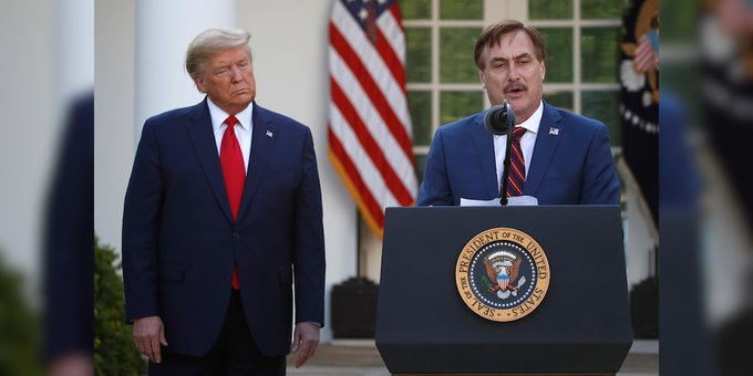 Twitter MyPillow Mike Lindell
