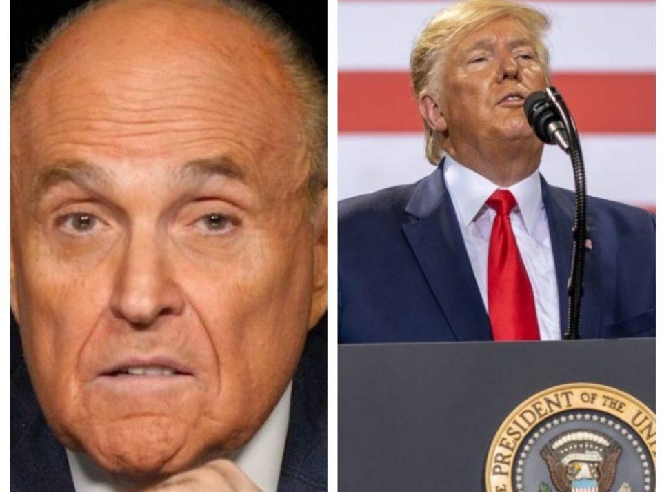 Rudy Giuliani Donald Trump
