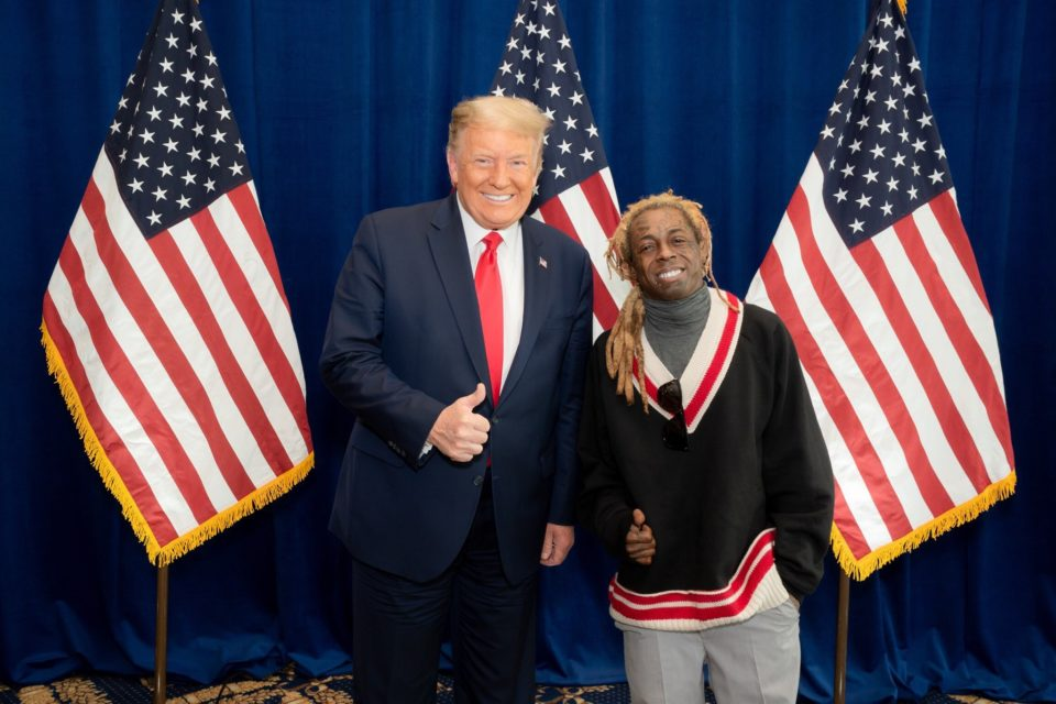 Trump pardon Lil Wayne Donald Trump