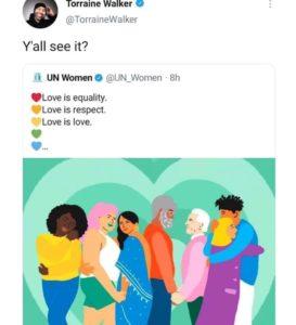 UN Women Valentines Day tweet Twitter apology