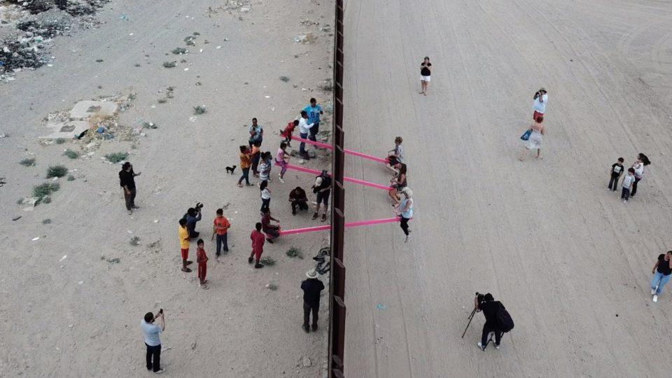 Mexico-U.S. Border Wall