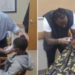 middle school hair principal Speaks Jason Smith haircut teen gesture