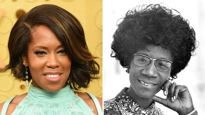 Regina King, Shirley Chisolm