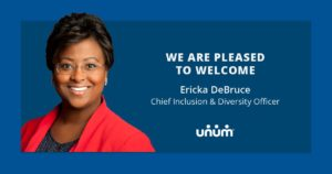 Unum Insurance Appoints Chief Inclusion And Diversity Officer