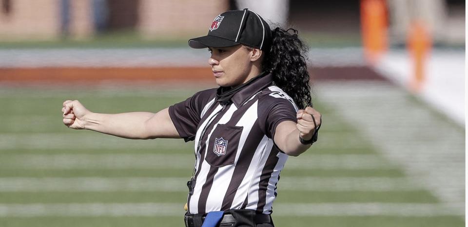 Maia Chaka NFL history football referee