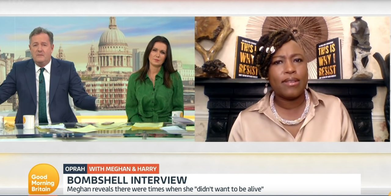 Piers Morgan Quits 'Good Morning Britain' After Being Chastised By Black Activist for Dismissing Meghan Markle's Claims of Racism