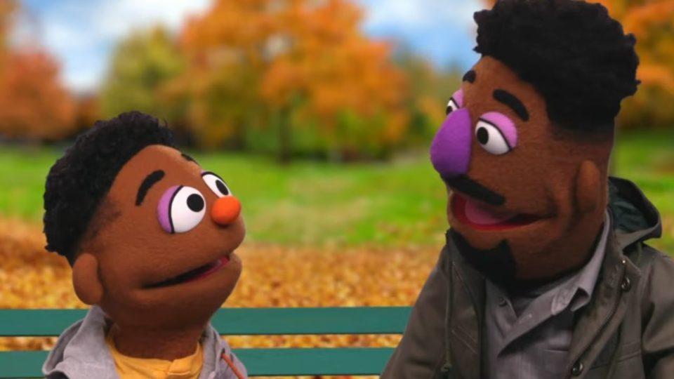 Wes and Elijah Sesame Street